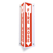 Fire Hose Projecting Sign