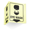 Eye Wash Projecting Glow Sign