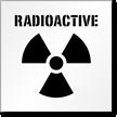 Radioactive Floor Stencil