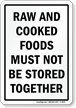 Food Safety Sign