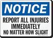 OSHA Notice Sign