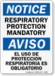 Bilingual OSHA Notice Sign