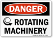 Danger: Rotating Machinery (with graphic)