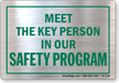 Safety Message Glass Decal