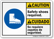Bilingual ANSI Caution / Cuidado Sign