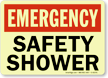 Emergency: Safety Shower