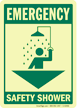 Emergency: Safety Shower (with graphic)