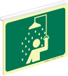 Safety Shower Symbol (only)