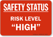Safety Status Risk Level