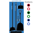 Semi-Custom Clean and Squeegee Shadow Board Kit