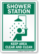 Emergency Station Sign