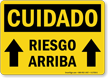 Spanish OSHA Caution Sign