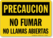 Spanish OSHA Caution / Precaucion Sign