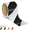 3 Inch Striped Reflective Floor Marking Tape