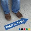 Traffic Flow, Thin Arrow
