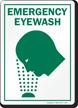 Eyewash Sign