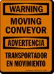 Bilingual OSHA Warning / Advertencia Sign