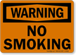 Warning: No Smoking