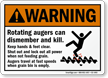 Grain Silo Safety Sign