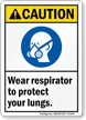 ANSI Caution Sign