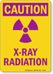 X-Ray Radiation Caution Sign