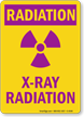 Radiation X-Ray Radiation Sign