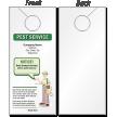 Make Your Own Pest Service Door Hanger