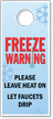 Freeze Warning Door Hanger