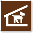 Kennel, MUTCD Guide Sign for Campground