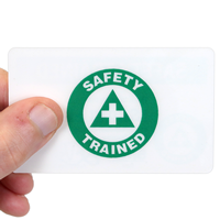 Safety Wallet Card(2-sided)