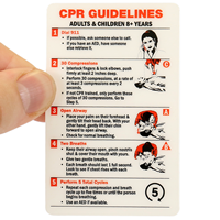 CPR Certification Wallet Card