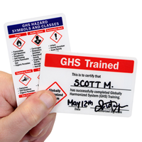GHS Trained Card