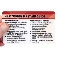 Heat Stress First Aid Guide