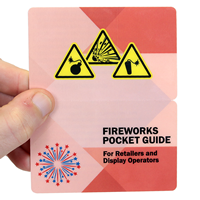 Fireworks Pocket Guide, For Retailers and Display Operators with Graphic