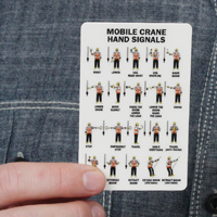 2 - Sided Mobile Crane Hand Signals