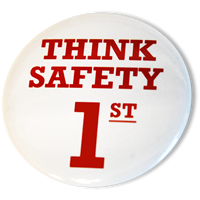 Think Safety 1st Buttons