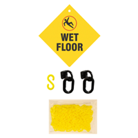 Janitorial Kit For Wet Floor Sign
