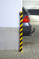 Corner Protection Bumper Guard with Steel Support