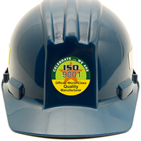 ISO 9001 COMMITMENT TO QUALITY Hard HAT DECAL