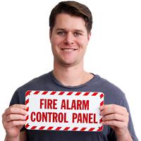 Fire Alarm Control Panel Label