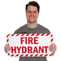 Fire Hydrant Labels