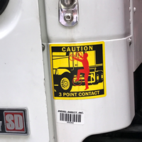 3 Point Contact Label - Tractor