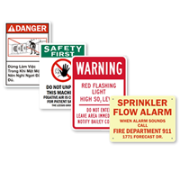 Quotation for Safety Signs