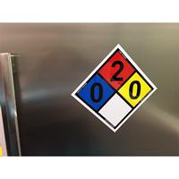 NFPA 704 Diamond Safety Sign