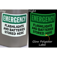Custom Emergency Glow Sign
