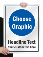 Add Your Headline And Custom Text Sign