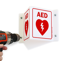 Safety Sign,Aed