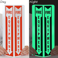 Fire Equipment Projecting Glow Sign