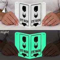 Eye Wash Projecting Glow Sign