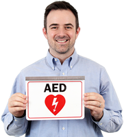 Aed Safetysign